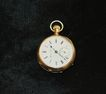 Fine American Open Face Hampden Pocket Watch