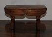 Country French Miniature Walnut table