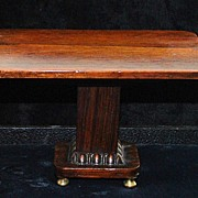 English Miniature Regency Rosewood Breakfast Table