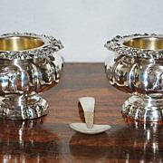Pair of Antique French Caviar Bowls,c.1900