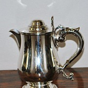 Elkington & Co. Silver Hot Water Jug,1856