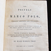 &quot;The Travels of Marco Polo&quot; - BOOK  1870