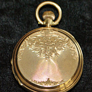 Swiss Fine Gold Hunting Case Pocket Watch, c. 1890