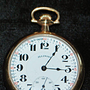 Bunn Special 21J Illinois Pocket Watch, 1921