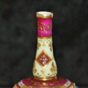 Miniature Royal Vienna Posey Vase, late 19th Century