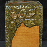 French Art Nouveau Playing Card Case, c. 1900