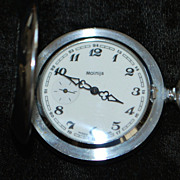 Russian Molnija Hunting Case Pocket Watch