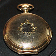 14K Hunting Case Minute Repeater Pocket Watch - Fine