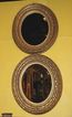 Pair of Napoleon III Gilt Mirrors