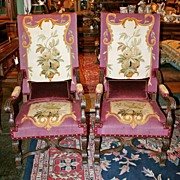 Stunning Pair of French Armchairs