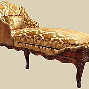 Elegant French Chaise