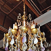 Magnificent French Crystal Chandelier