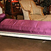 Rare 18th Century French Directoire Style Chaise
