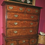 George III Chest on Stand