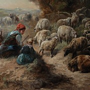 """Tending Their Flocks"", Henry Schouten"