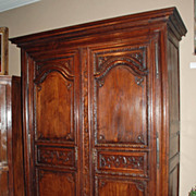 Carved Louis XIII Armoire