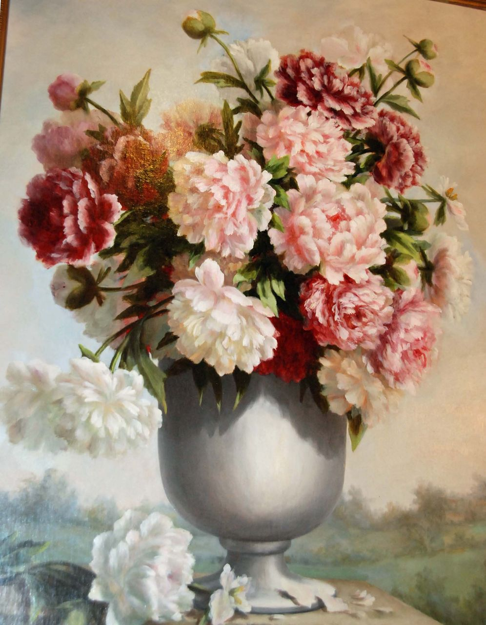 Stunning &quot;Urn with Flowers&quot;