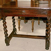 French Louis XIII Style Table