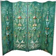 Stunning Italian Leather Screen