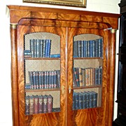 French Empire Style Bookcase