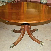 English Mahogany Table