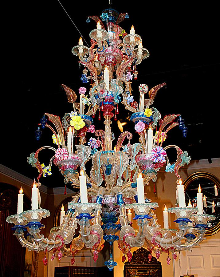 Murano chandelier venetian glass factory chandeliers pinterest murano chandelier venetian glass factory chandeliers pinterest venetian chandeliers and glass aloadofball Image collections
