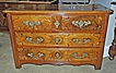 Gorgeous 18th Century French Walnut Commode