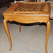 French Game Table