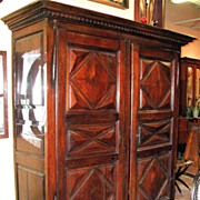 Robust Louis XIII Armoire