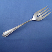 Wm.A.Rogers Silverplate Cold Meat Serving Fork