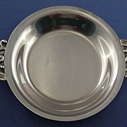 E. Lind Danish Silverplate Bon Bon Dish