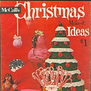 Vintage McCall's Christmas Make-it Ideas Magazine - 1961