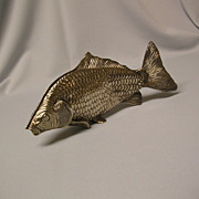 Large Silver Plated Fish Napkin / Serviette  Holder