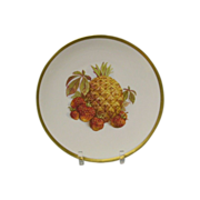 Pineapple and Strawberry Salad Plate Jaegar Germany