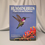 Hummingbirds: Their Life and Behavior by Esther Tyrrell - 1985 Book