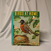 Birds At Home by Marguerite Henry - 1942 Book
