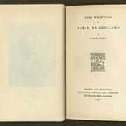 Wake-Robin (The Writings of John Burroughs, Vol. I) - 1905