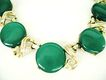Green Moongloow Thermoset Disc Choker