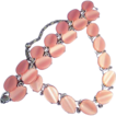 LISNER Vintage  Petal Pink Vintage Necklace Bracelet Set