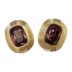 SWAROVSKI Elegant Sherry Wine Crystal Earrings