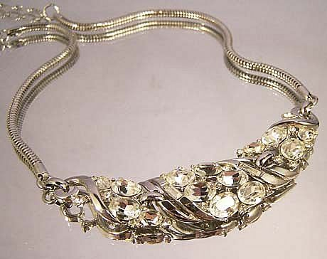 TRIFARI Alfred Philippe Rhinestone Necklace
