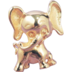 TORTOLANI Gold Elephant Brooch - Vintage