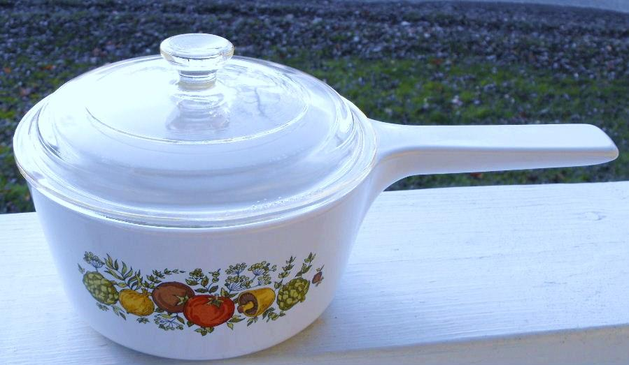 Corning Ware Rangetopper, Spice Of Life Pattern