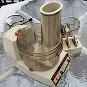 Vintage General Electric Food Processor Blender
