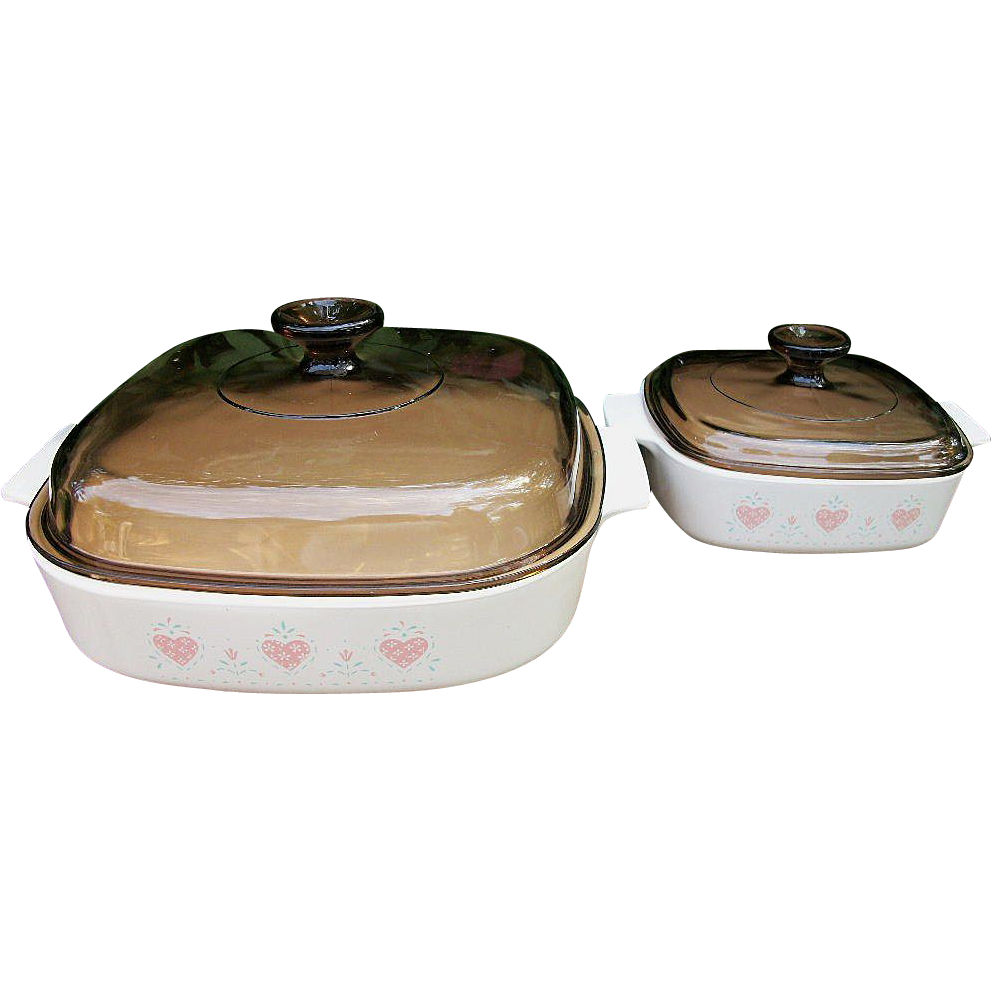 Corning Ware Forever Yours Covered Casseroles