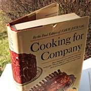 Farm Journal Cooking For Company Cookbook, 1968