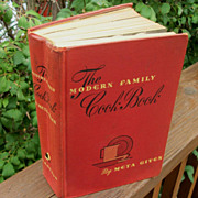 SOLD 1943 Meta Given The Modern Family Cookbook