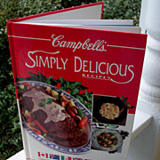 Campbell's Cookbook, Simply Delicious,1992