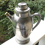 Keystone Silver Company Pewter Cocktail Shaker
