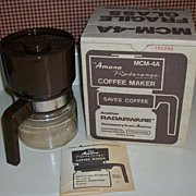 Vintage Amana Radarange Coffee Maker, New In Box